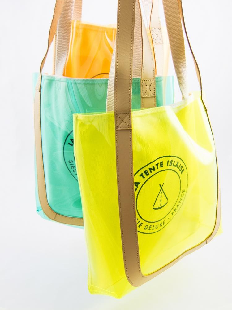 Vinyl Tote Bags
